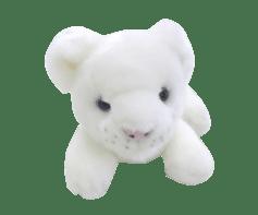 ホワイトライオンぬいぐるみ